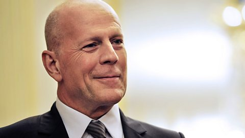 "Image for Bruce Willis ""hadn't been briefed"" for The One Show"