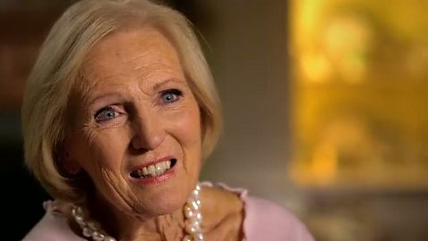 Image for Mary Berry's career today