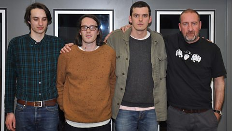 Image for Mazes join Marc Riley in the studio