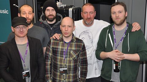 Image for Mogwai join Marc Riley for a chat in the studio