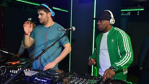 Image for Rudimental do the Harlem Shake live in the Mix