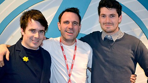 Image for The Fabulous Baker Brothers join Shaun Keaveny in the studio