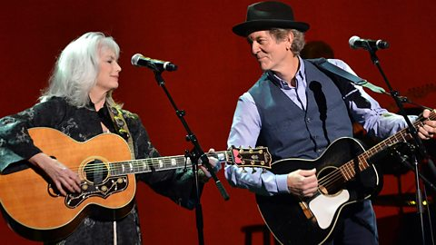 Image for Emmylou Harris and Rodney Crowell speak to Bob Harris