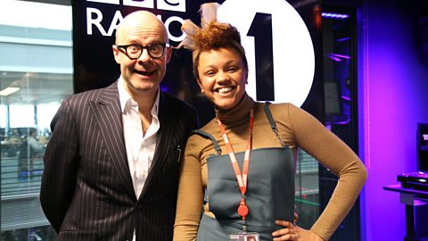 Image for Harry Hill talks inflatable sausages with Gemma