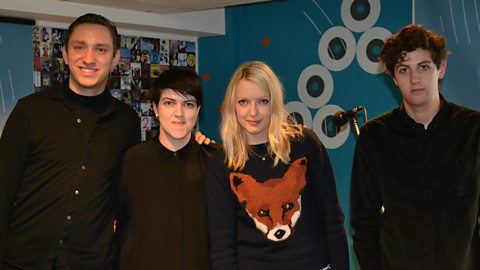 Image for The xx speak to Lauren Laverne
