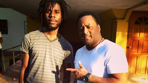 Image for Chronixx catches up with Robbo Ranx