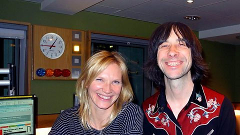 Image for Bobby Gillespie chats with Jo Whiley