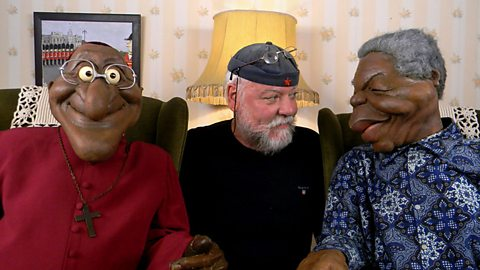 Image for The people behind South Africa's satirical puppets