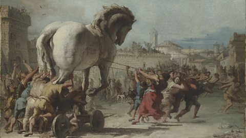 Image for Ellen Adams on the Trojan horse