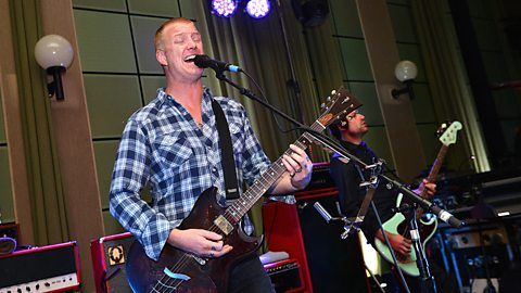 Image for Josh Homme catches up with Zane at Radio 1 Rocks
