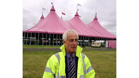Image for National Eisteddfod 2013 preview: Raising the Pavillion in Denbigh