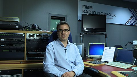 on my experience in radio broadcasting