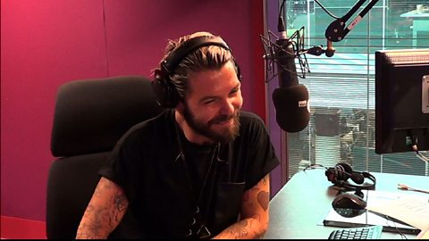 Image for Simon from Biffy Clyro joins Grimmy in the studio