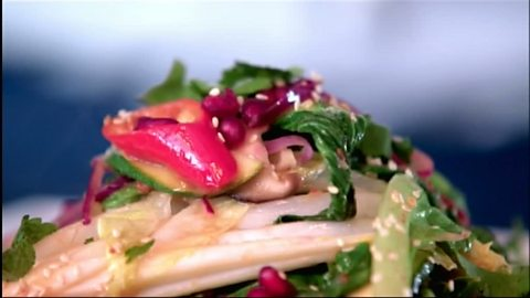 Image for Stir-fried salad