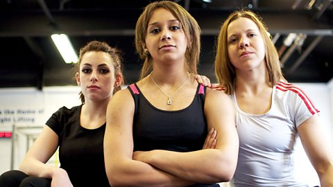 Image for Young British Olympic weightlifting hopefuls