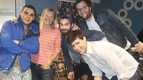 Image for Vampire Weekend chat to Jo Whiley