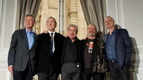 Image for Monty Python reunion reaction 'extraordinary'
