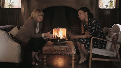 Image for Caroline and Kate try and spend a romantic night at a hotel