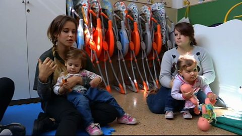 Image for Abortion taboo for Argentina's teen mums?