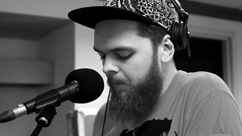 Jack Garratt at the piano for his sessionon BBC Radio 1, for Huw Stephens  at SXSW, March 18th 2015