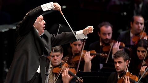 Barenboim Conducts the West-Eastern Divan Orchestra