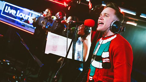 Live Lounge - Olly ChristMurs