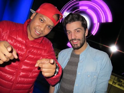 Chuckie and co-host Gregori Klosman!