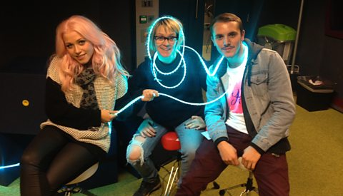 Amelia Lily with Edith and Moz from We Are SME