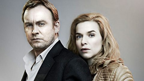 Harry Venn (PHILIP GLENISTER) and Gina Hawkes (THEKLA REUTEN)