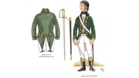 Henry Joy McCracken's Uniform