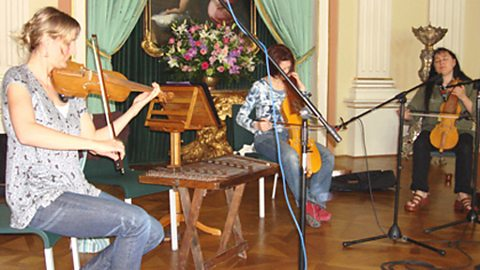 The Maria Pomianowska Ensemble perform for World Routes at Warsaw's Royal Castle