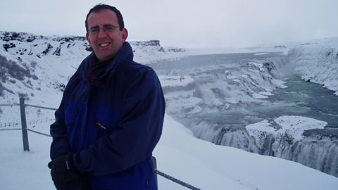 Richard Coles in Iceland