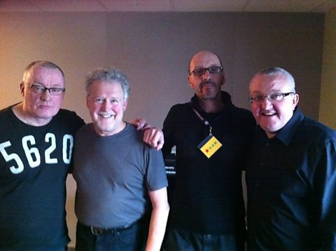Stuart, Tony Roper, Bruce Morton and Tam