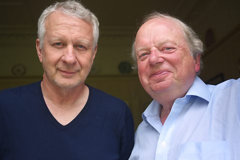 Joe Queenan and John Sergeant