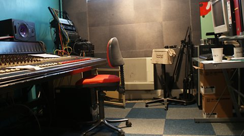 BEFORE: STUDIO CONTROL ROOM