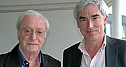 Sir Michael Caine (left) with Owen Bennett Jones