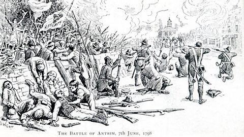 Battle of Antrim, 1798