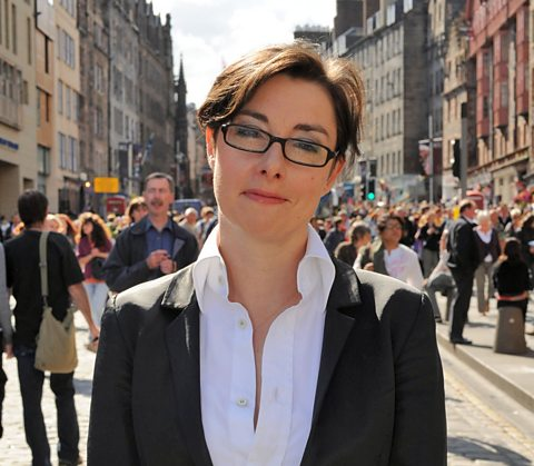 Sue Perkins will be guiding us through some of the Edinburgh Festival highlights this week.