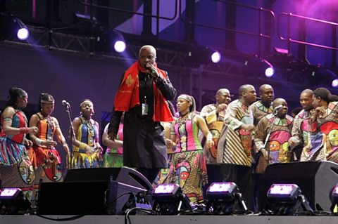 Angelique Kidjo and the Soweto Gospel Choir