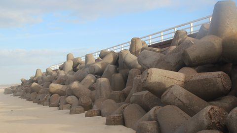 Photo: Sea defences on Sylt