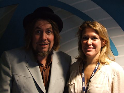 Cerys and Jerry Dammers