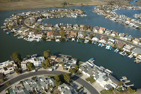 Housing development in the Delta