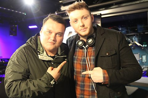 Charlie Sloth with James Arthur