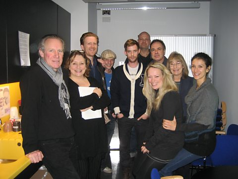 The cast of On the Edge of the Earth