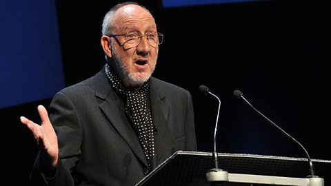 Pete Townshend delivers The John Peel Lecture
