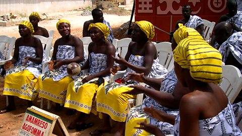 Recording the Amaneresu Cultural Ensemble in Kumasi