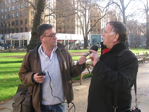 Mike wanders through London with Jan Gehl