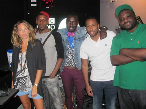 Heartless Crew and Femme Fatale on the Ace & Vis Show