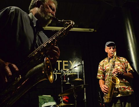 Evan Parker & John Tchicai at The Vortex (2011)