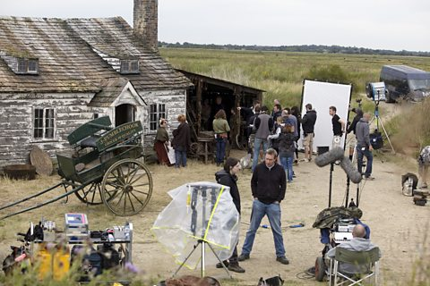 Behind the scenes: filming on location at the forge